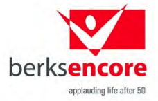 Berks Encore - applauding life after fifty.